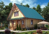 Project of Wooden House 187_2