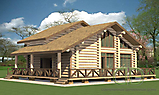 Project of Wooden House 188_1