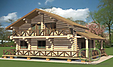 Project of Wooden House 188_3