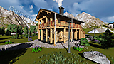 Project of Wooden House 190_5