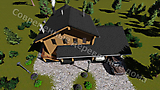 Project of Wooden House 190_6