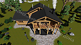 Project of Wooden House 190_7