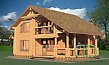 Project of Wooden House 191_1