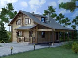Project of Wooden House 192