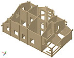 Project of Wooden House 193_2