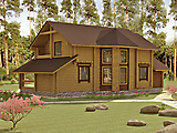 Project of Wooden House 193_6