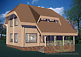 WOODEN HOUSES TO 200 M2
