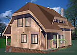 Project of Wooden House 194_2