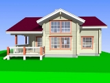 Project of Wooden House 195_6